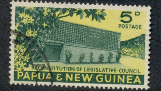 PNG 1961 Legislative Council 5d FU
