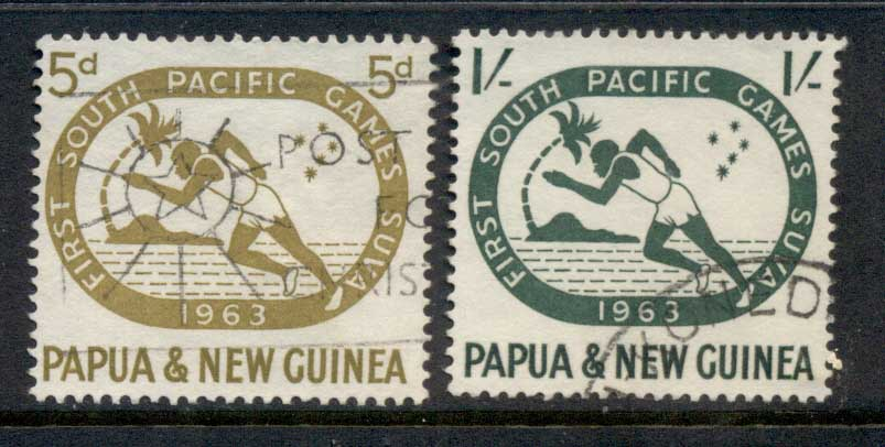 PNG 1963 South Pacific Games FU