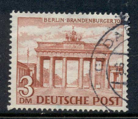 Germany Berlin 1949 Brandenburg Gate 3m FU