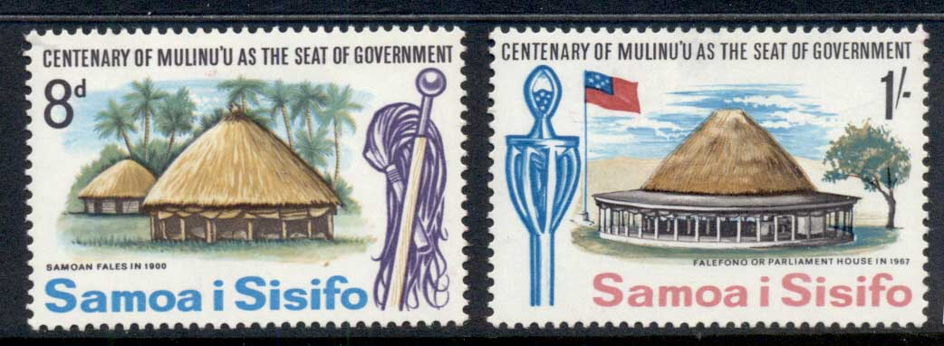 Samoa 1967 Government Seat MLH