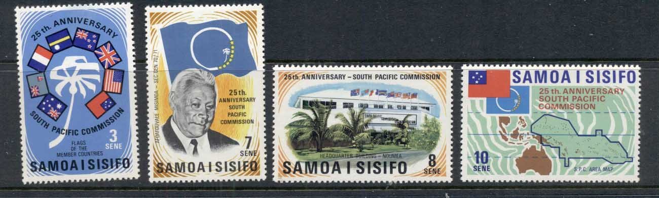 Samoa 1972 South Pacific Commission MLH
