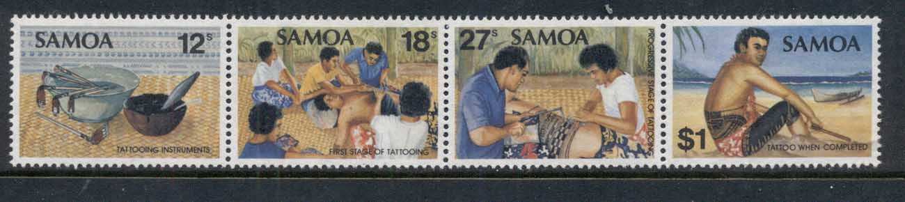 Samoa 1981 Tattooing Instruments MLH