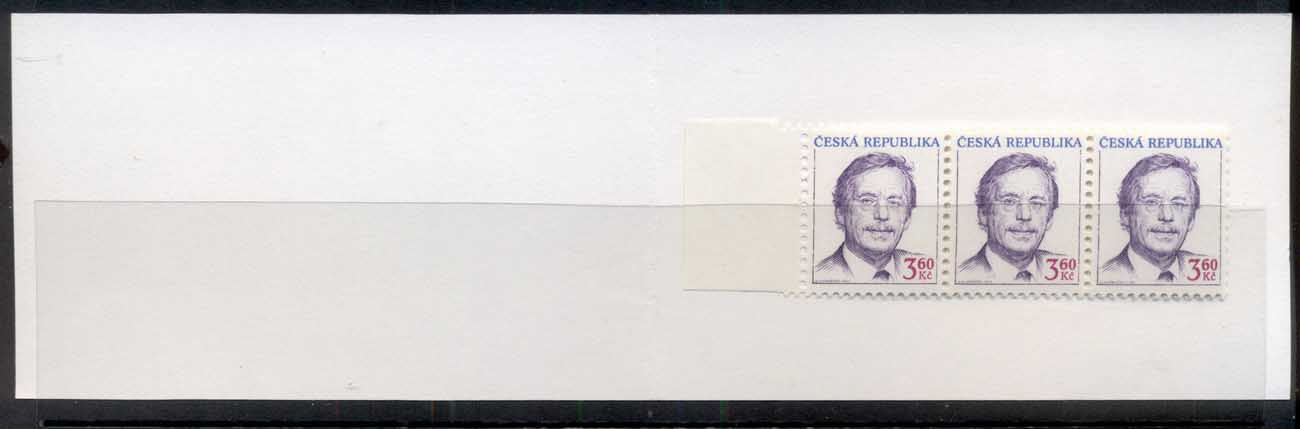 Czech Republic 1995 Redrawn booklet MUH