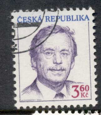 Czech Republic 1995 Pres. Havel CTO
