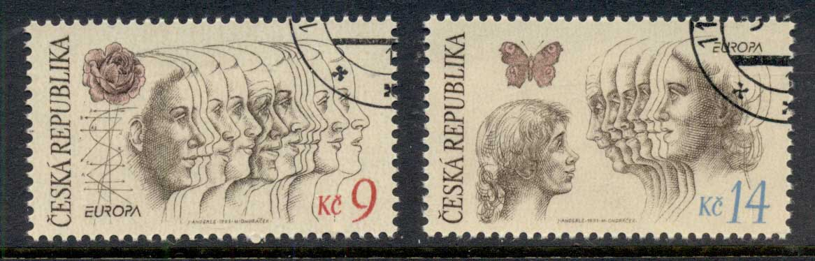 Czech Republic 1995 Europa, peace & Freedom CTO