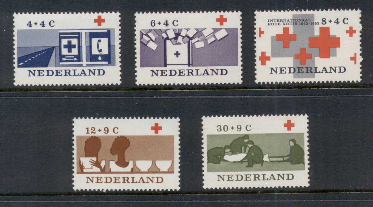 Netherlands 1963 Charity, Red Cross MUH