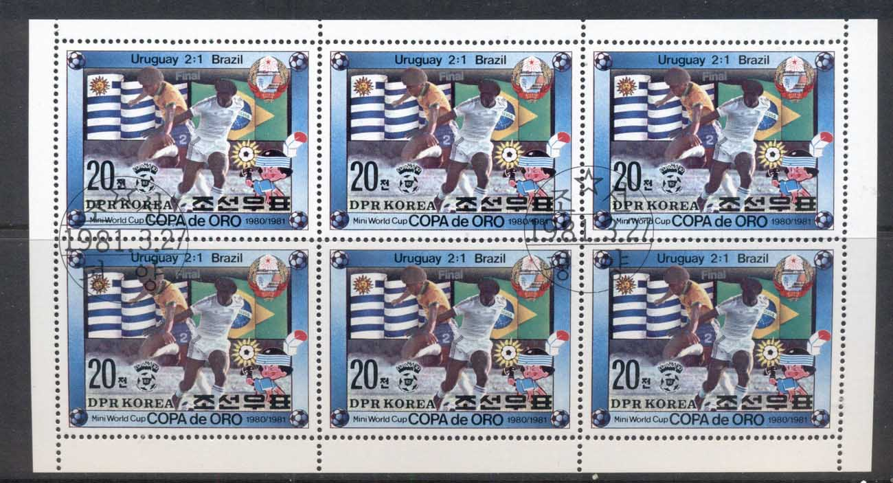 South East Asia 1981 Mini World Cup sheetlet CTO