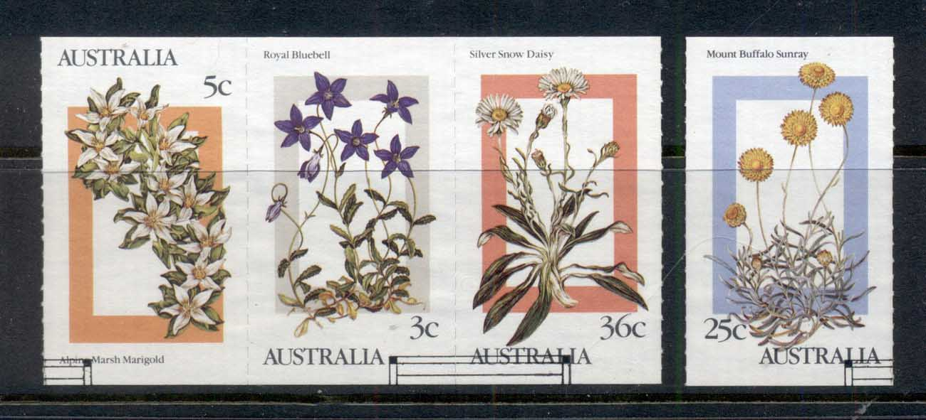 Australia 1986 Alpine Wildflowers FU