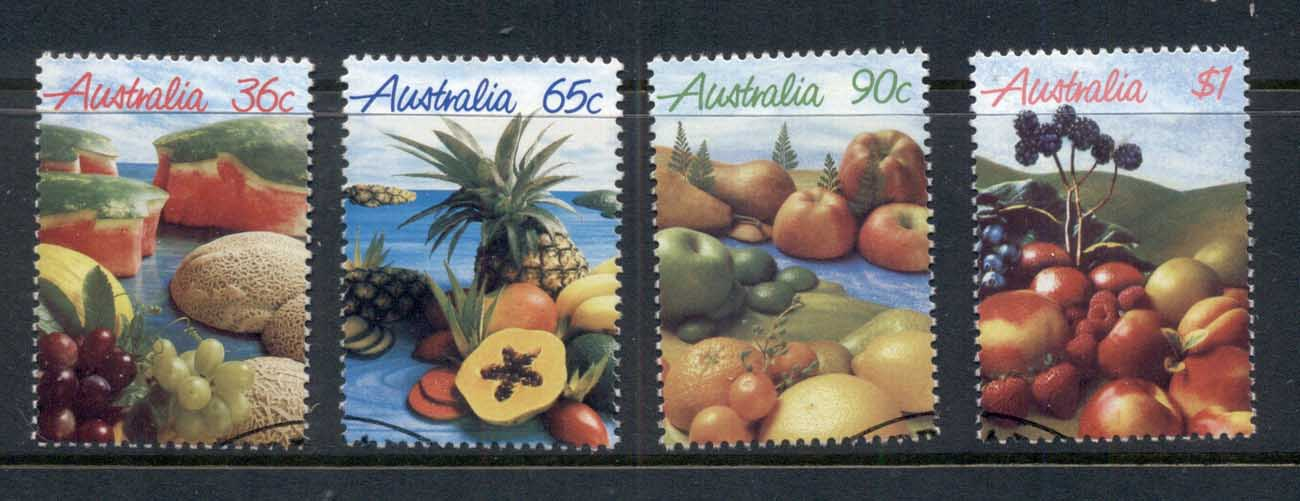 Australia 1987 Fruits FU