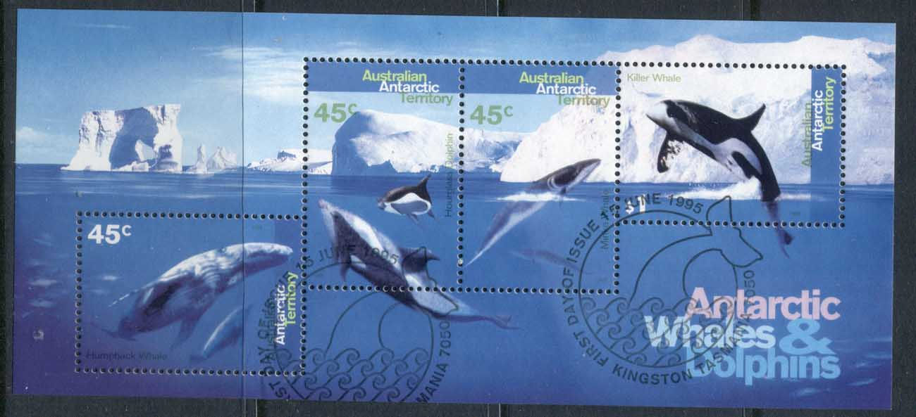 AAT 1995 Whales & Dolphins MS FU
