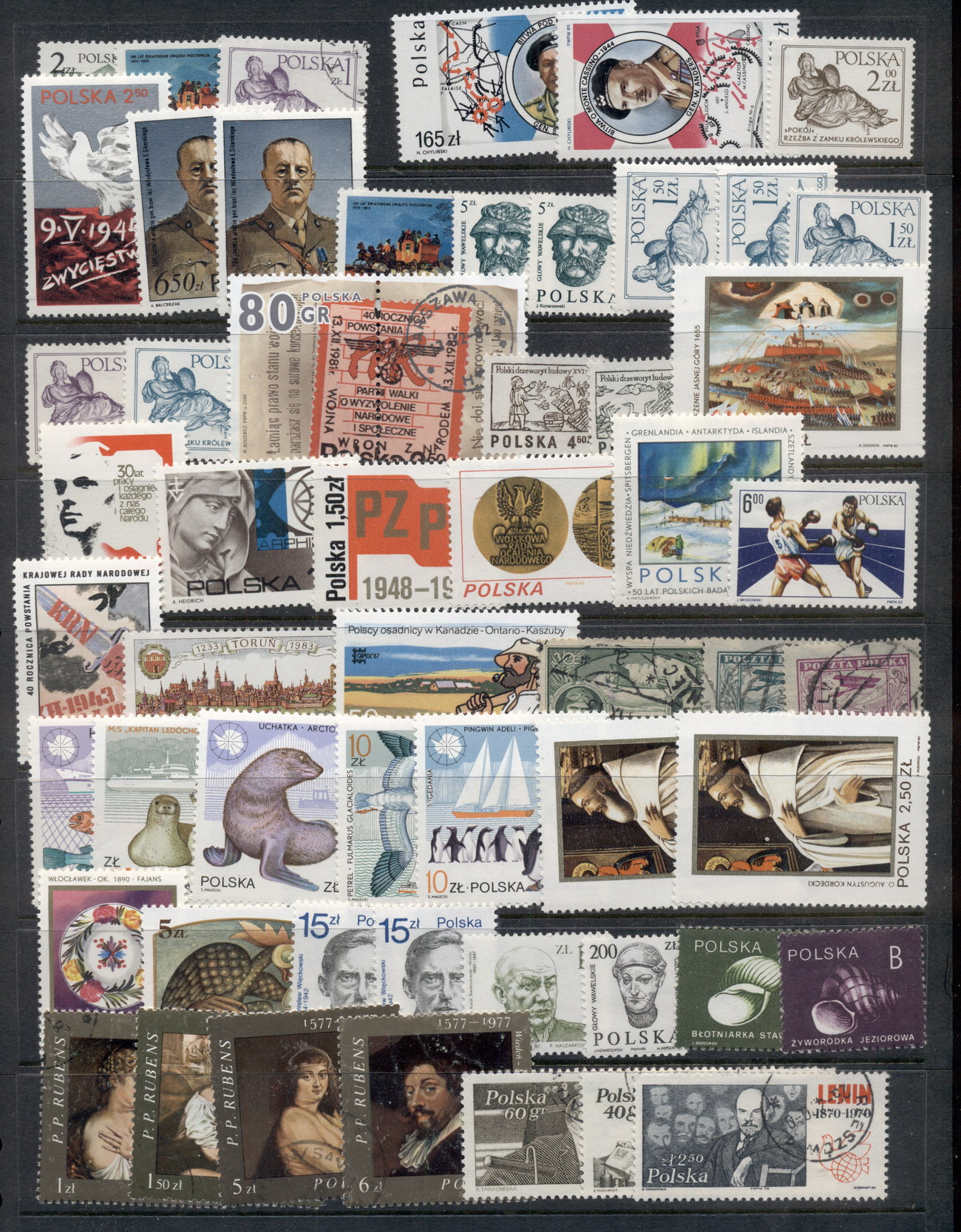 World Assortment, Mainly Europe, Mint & Used, BOB, Cinderellas 10 scans