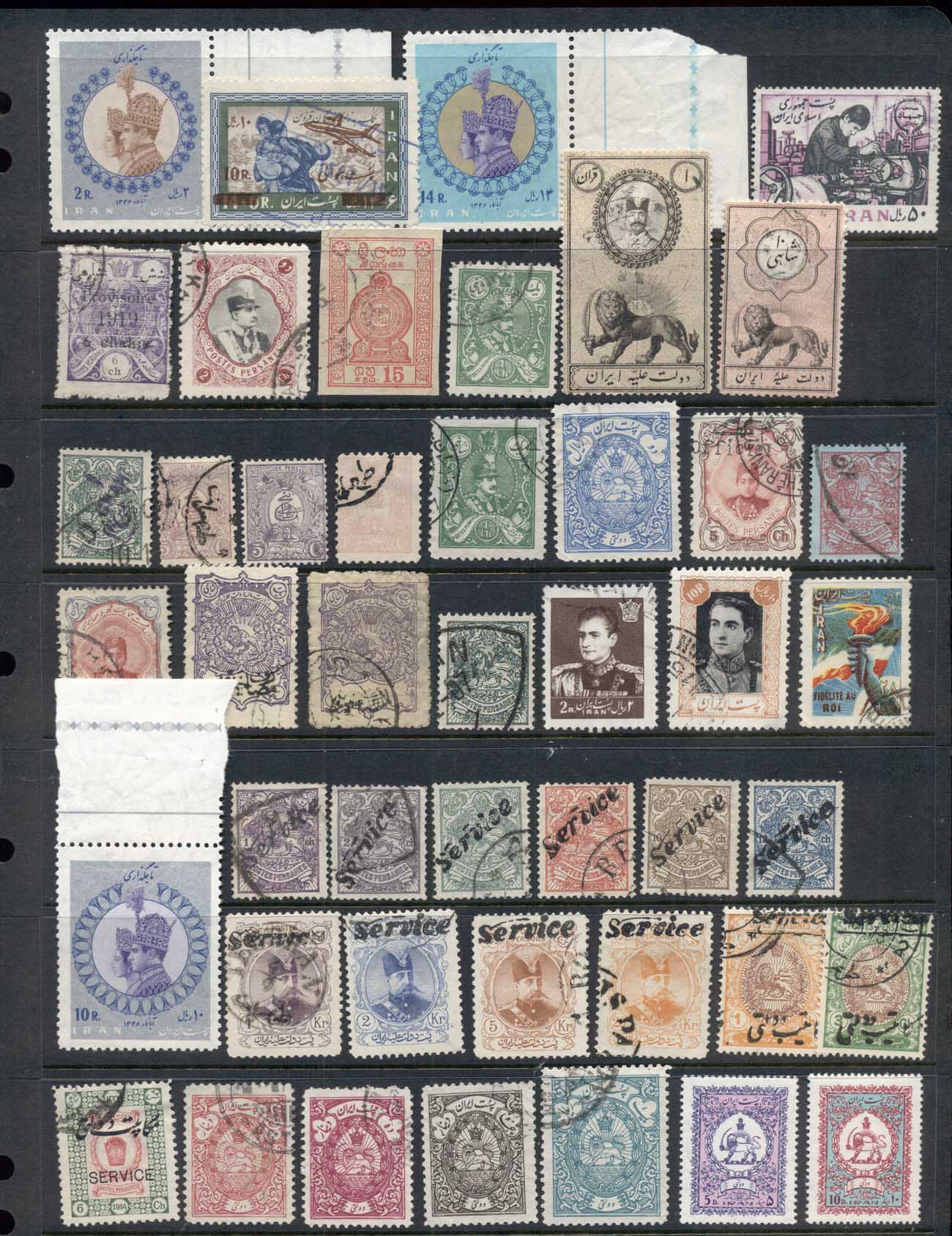 Middle East 1880's on Some Better Assortment with Dues & Officials 9 scans