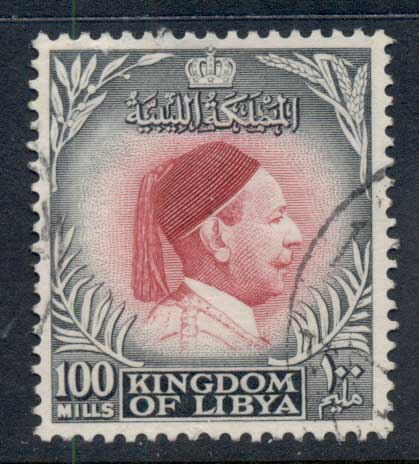 Libya 1952 King Idris 100m FU