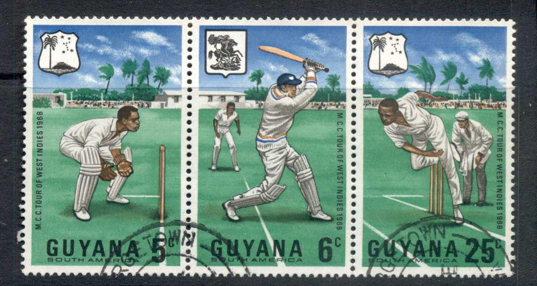 Guyana 1968 MCC Cricket FU
