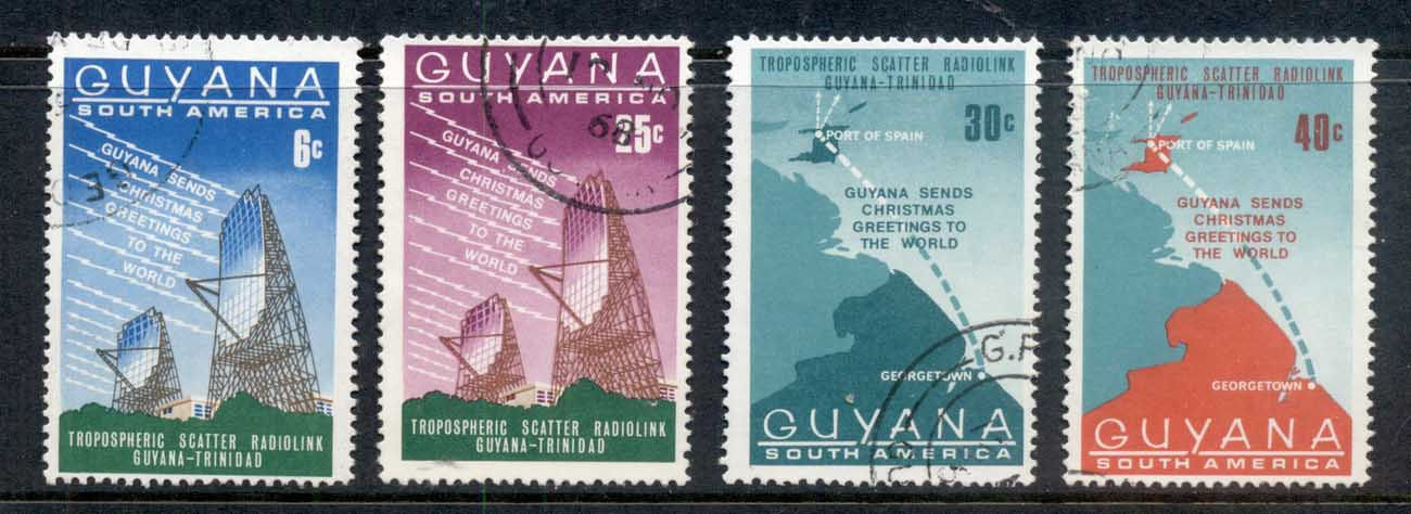 Guyana 1968 Telecommunications link with Trinidad FU