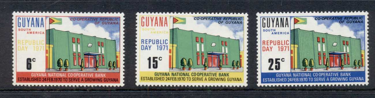 Guyana 1971 Republic Day MUH