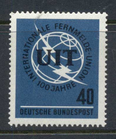 Germany 1965 ITU Centenary MUH