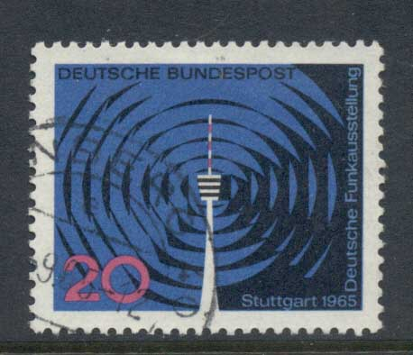 Germany 1965 Radio Ex FU