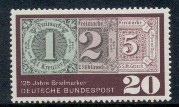 Germany 1965 GB Stamp Anniv. MUH