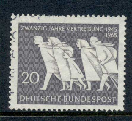 Germany 1965 German Expatriation FU