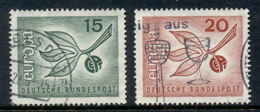Germany 1965 Europa FU