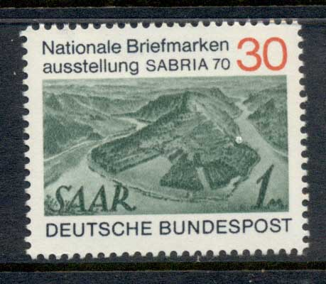 Germany 1970 SABRIA Stamp Ex. MUH