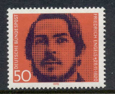Germany 1970 Friedrich Engels MUH