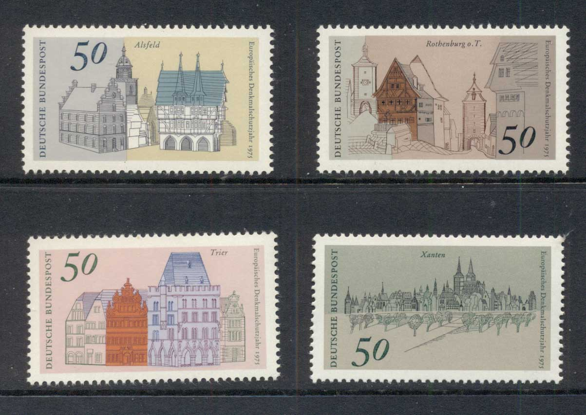 Germany 1975 Architectural Heritage Year MUH