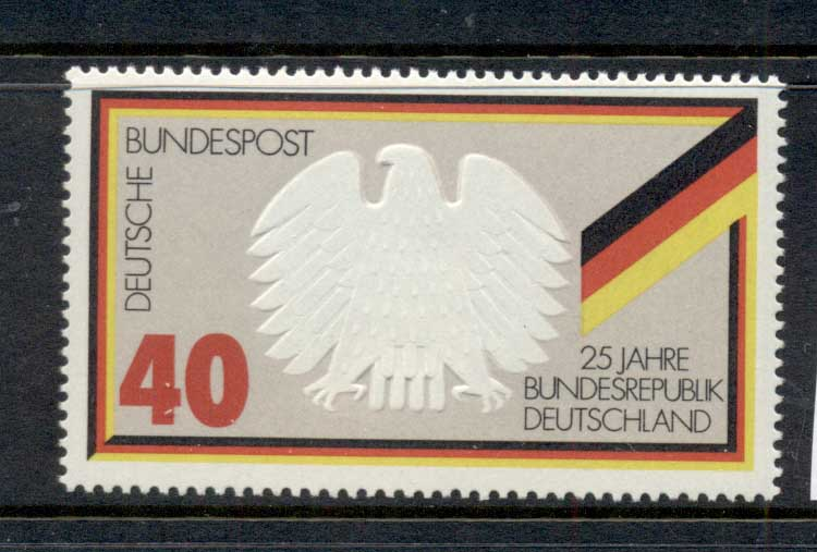 Germany 1975 Republic 25th Anniv. MUH