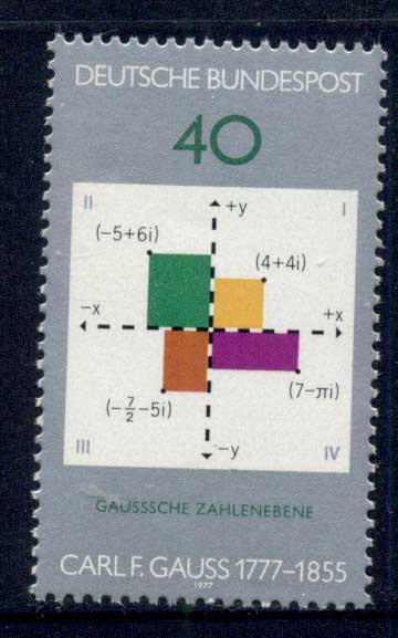 Germany 1977 Mathematics MUH - Click Image to Close