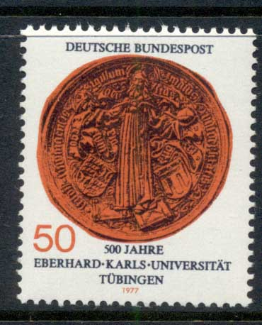 Germany 1977 Tubingen University MUH