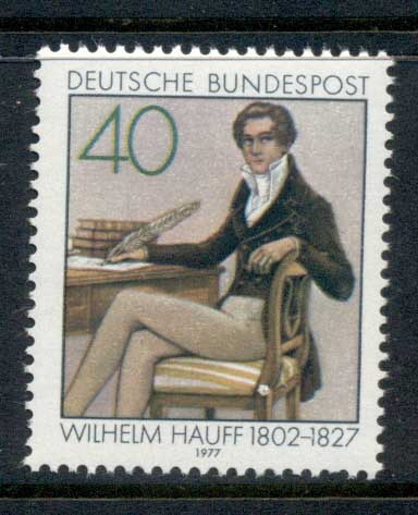 Germany 1977 Wilhelm Hauff MUH