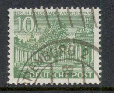 Germany Berlin 1949 Buildings 10pf FU