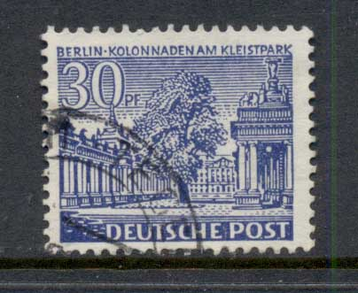 Germany Berlin 1949 Buildings 30pf FU