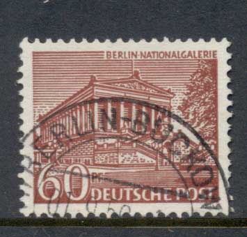 Germany Berlin 1949 Buildings 60pf FU