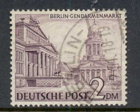 Germany Berlin 1949 Buildings 2m FU