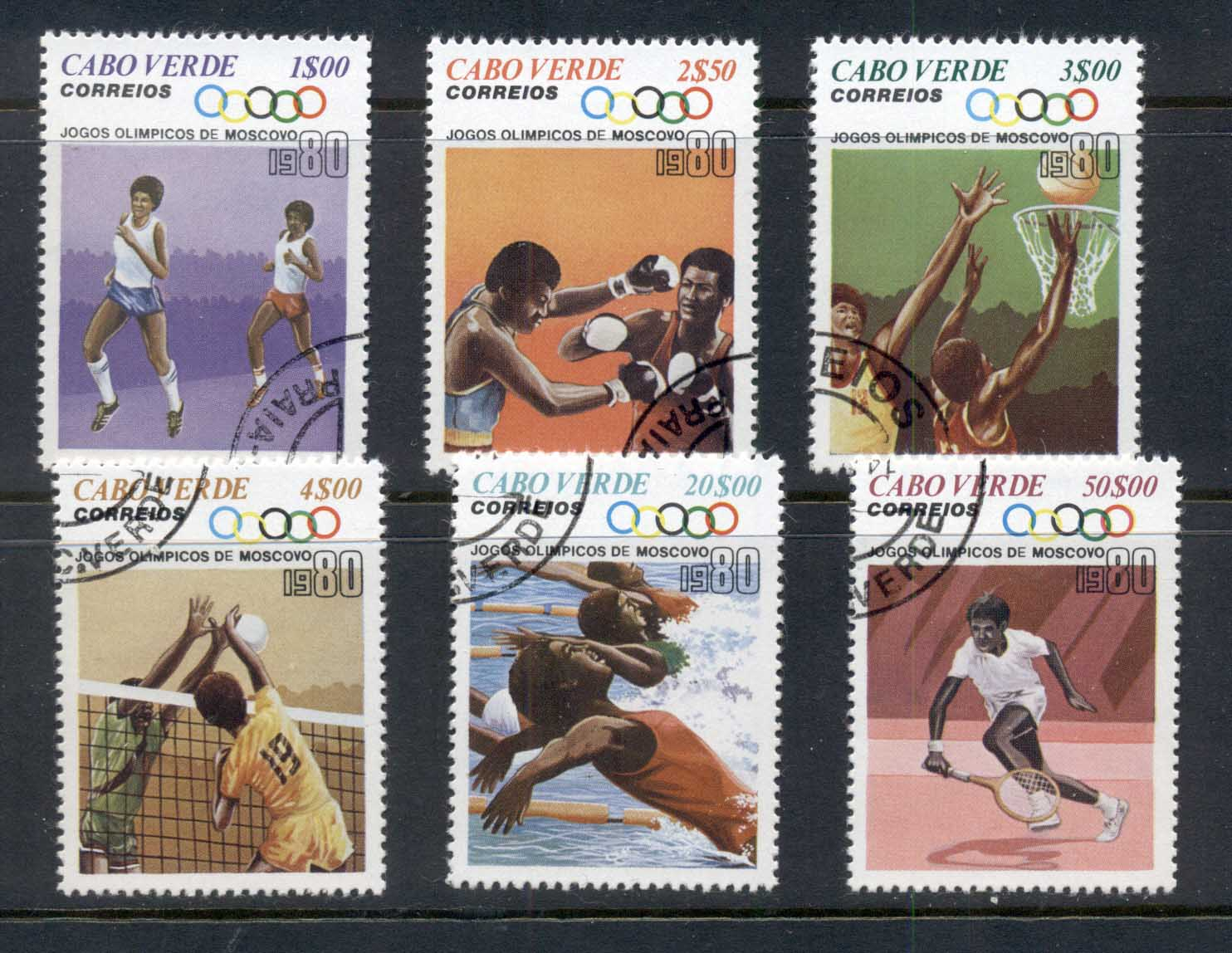 Cape Verde 1980 Summer Olympics Mexico City CTO