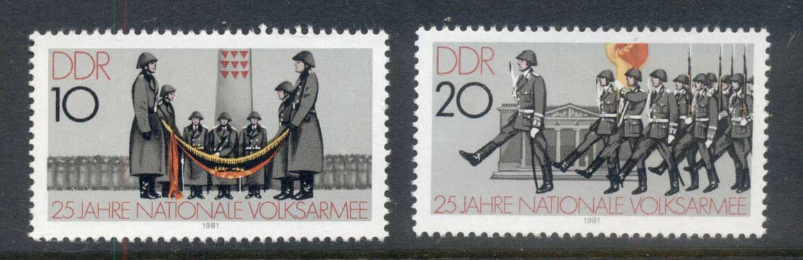 Germany DDR 1981 Peoples Forces MUH