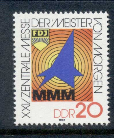 Germany DDR 1982 Masters of Tomorrow MUH