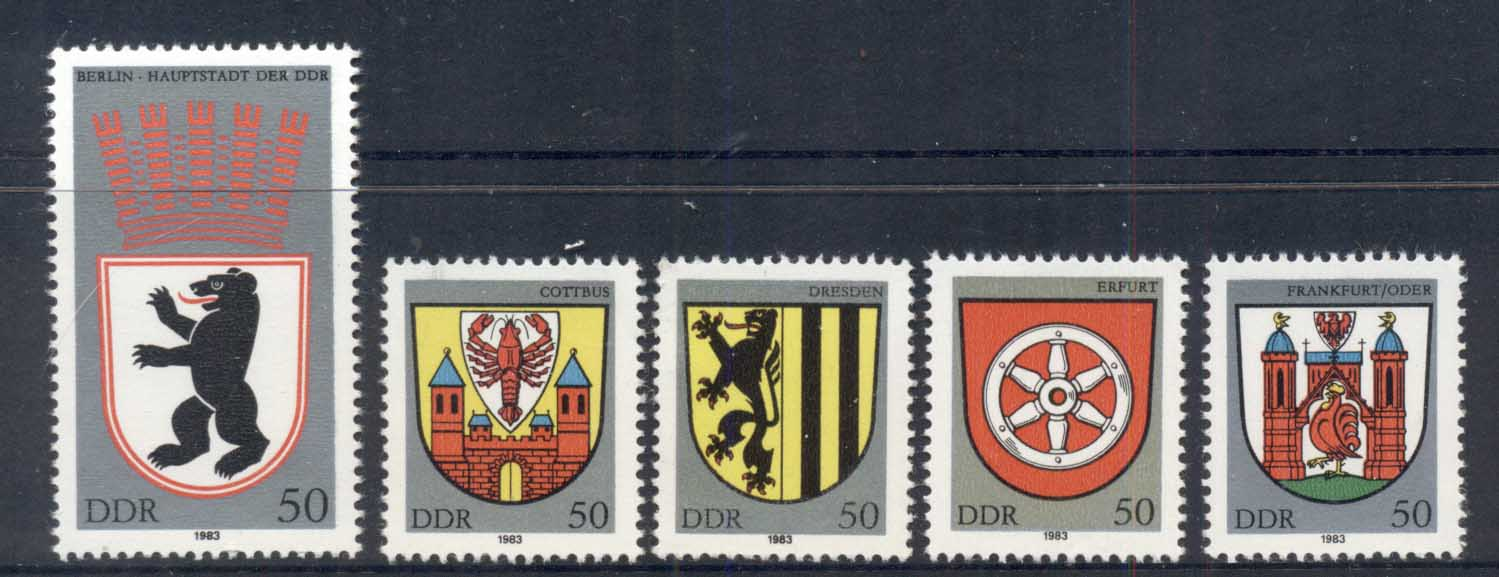 Germany DDR 1983 City Arms MUH