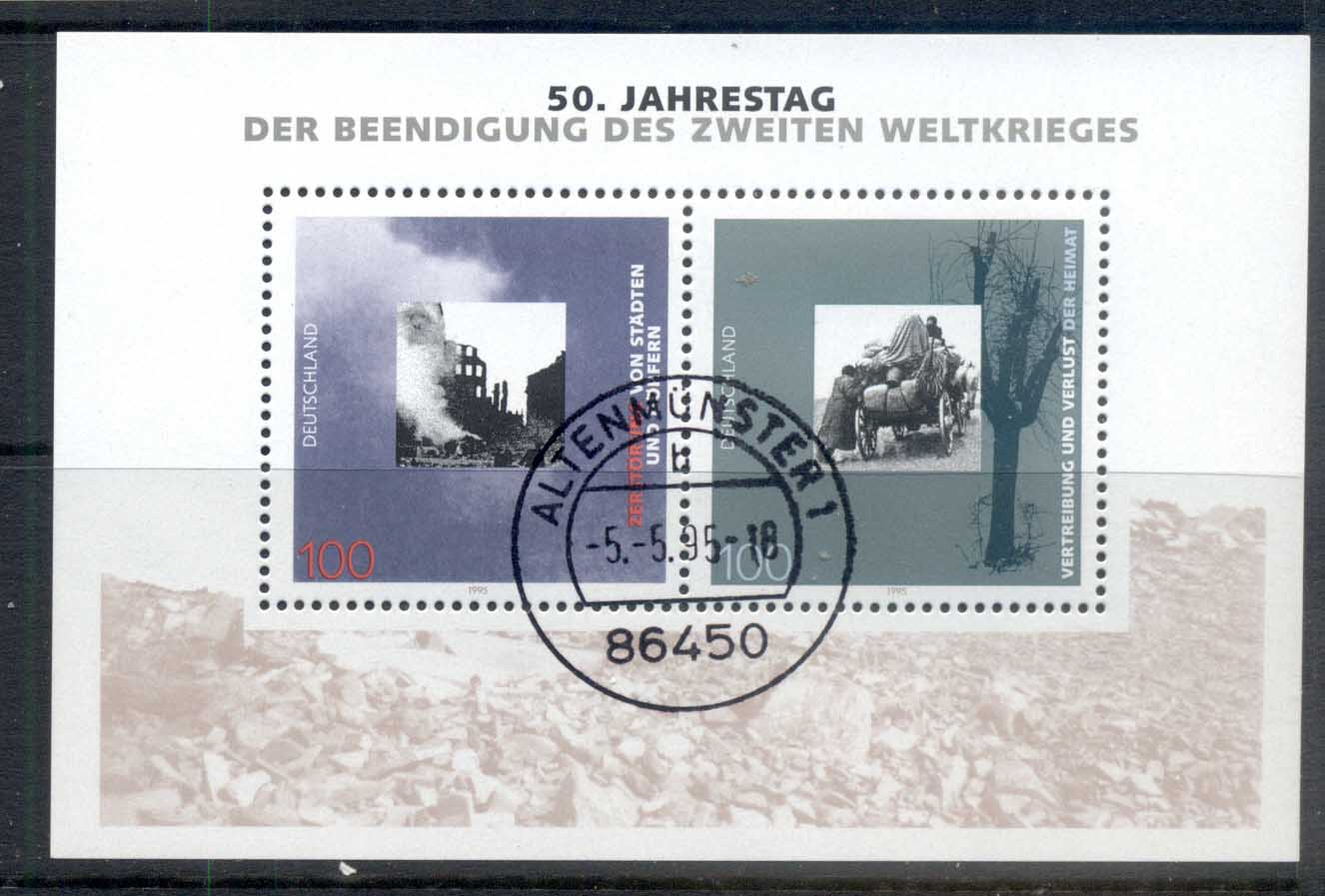 Germany 1995 End of WWII MS CTO