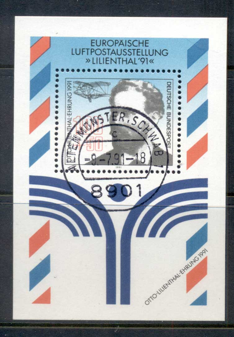 Germany 1991 Welfare Foundation of Philately MS CTO