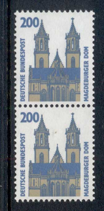 Germany 1987-86 Historic Sites & Objects 200pf pr MUH