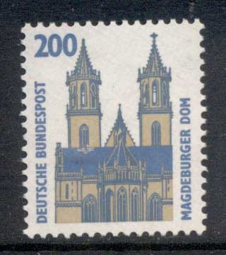 Germany 1987-86 Historic Sites & Objects 200pf MUH