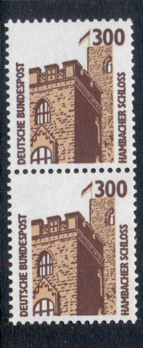 Germany 1987-86 Historic Sites & Objects 300pf pr MUH