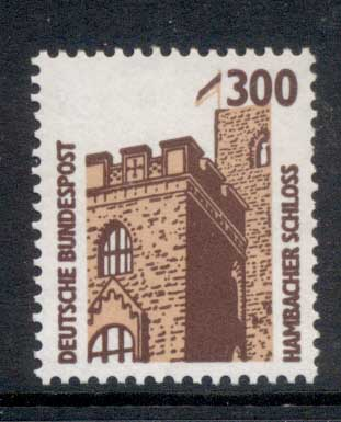 Germany 1987-86 Historic Sites & Objects 300pf MUH