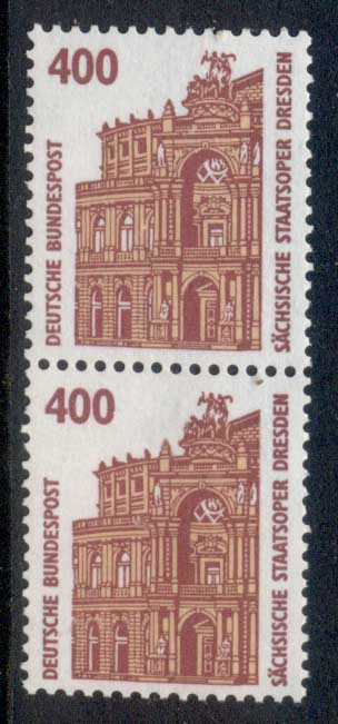 Germany 1987-86 Historic Sites & Objects 400pf pr MUH