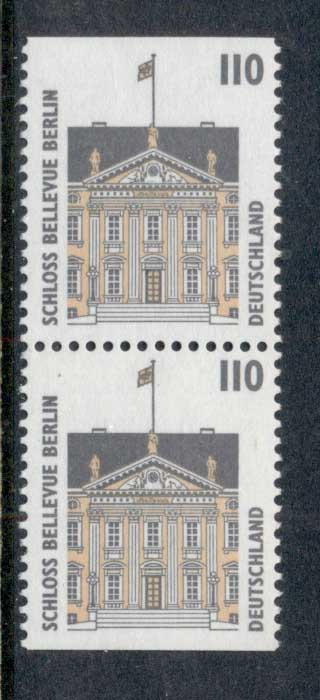 Germany 1994-2001 Historic Sites & Objects 110pf booklet pr MUH