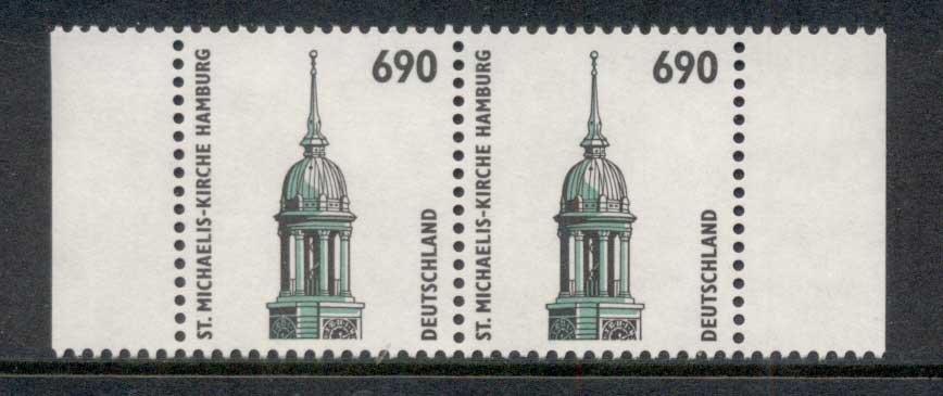 Germany 1994-2001 Historic Sites & Objects 690pf pr MUH