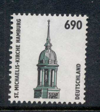 Germany 1994-2001 Historic Sites & Objects 690pf MUH